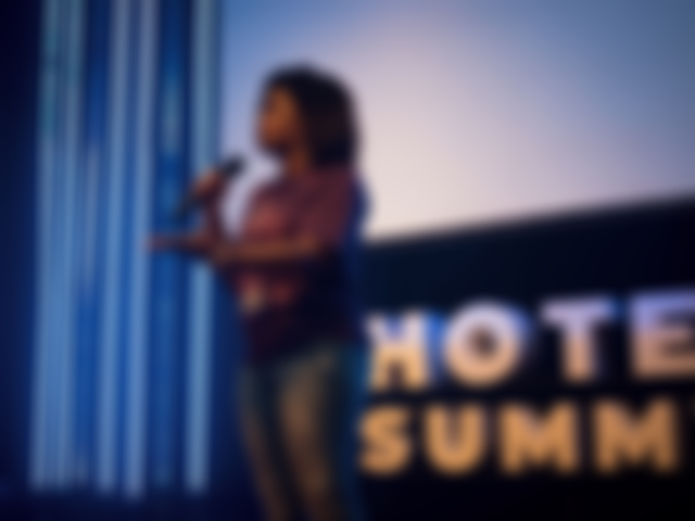 Palestra de Roseane pela selfHotel no Hotel Summit