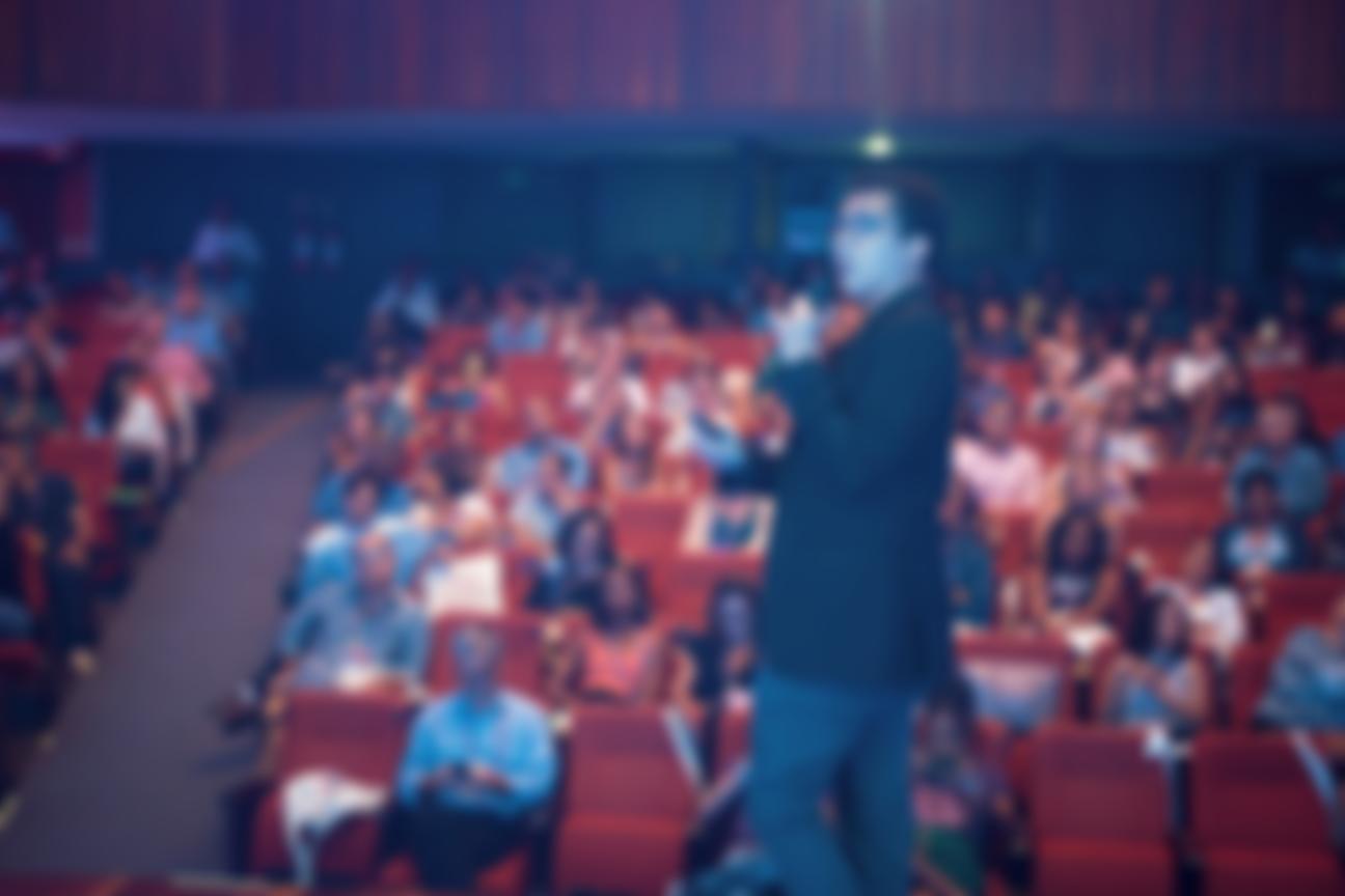 Palestrante Felipe Pestana em cena - Hotel Summit 2019