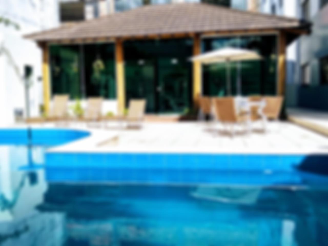 Area de lazer com piscina climatizada
