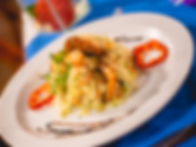 Dinner Azzurro Restaurant Hotel Village Paraiso Tropical