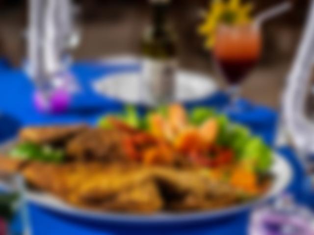 Jantar Restaurante Azzurro Hotel Village Paraiso Tropical