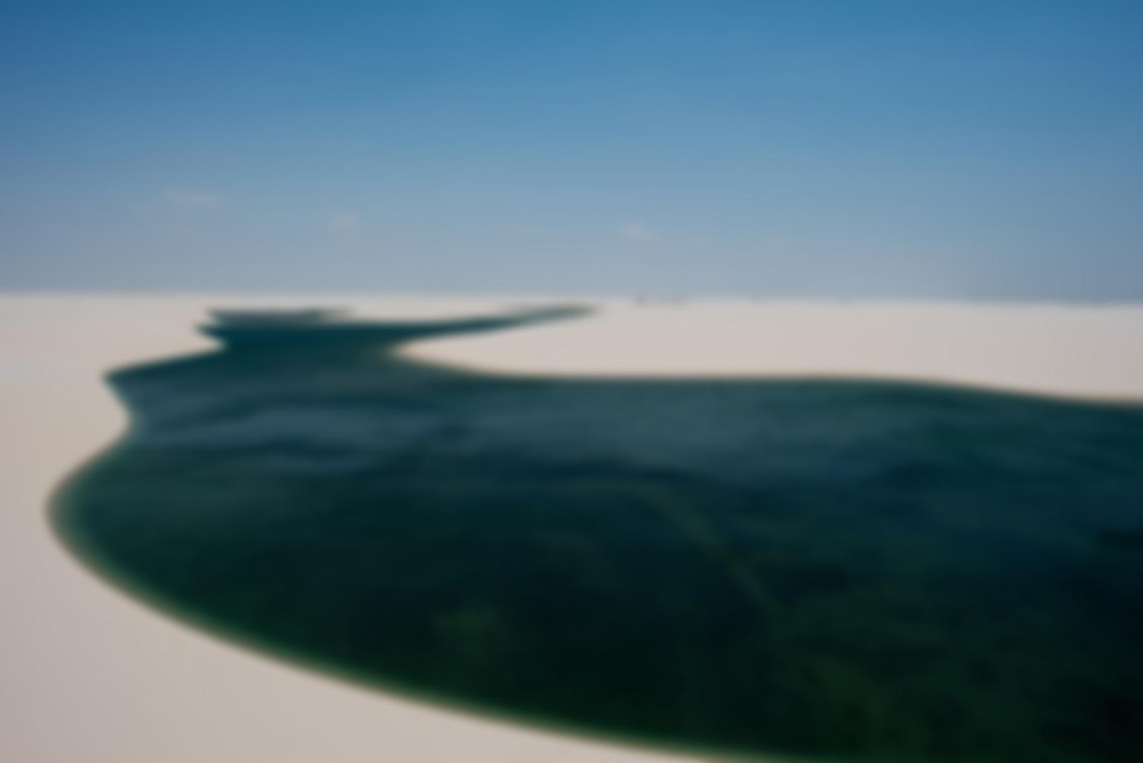 Lagoa - Lençóis Maranhenses - Pousada da Areia