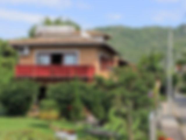 Vista do Jardim - Pousada Casa da Lagoa - Florianópolis