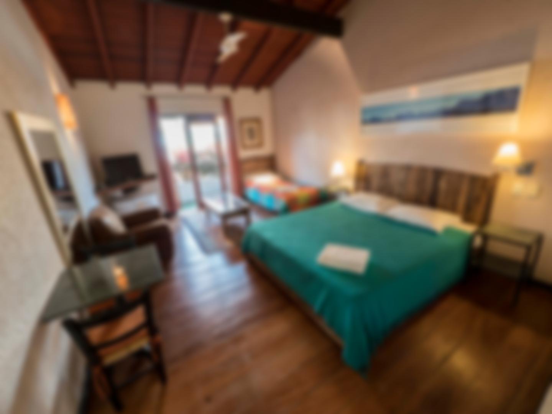 Quarto triplo- Pousada Casa da Lagoa - Florianópolis