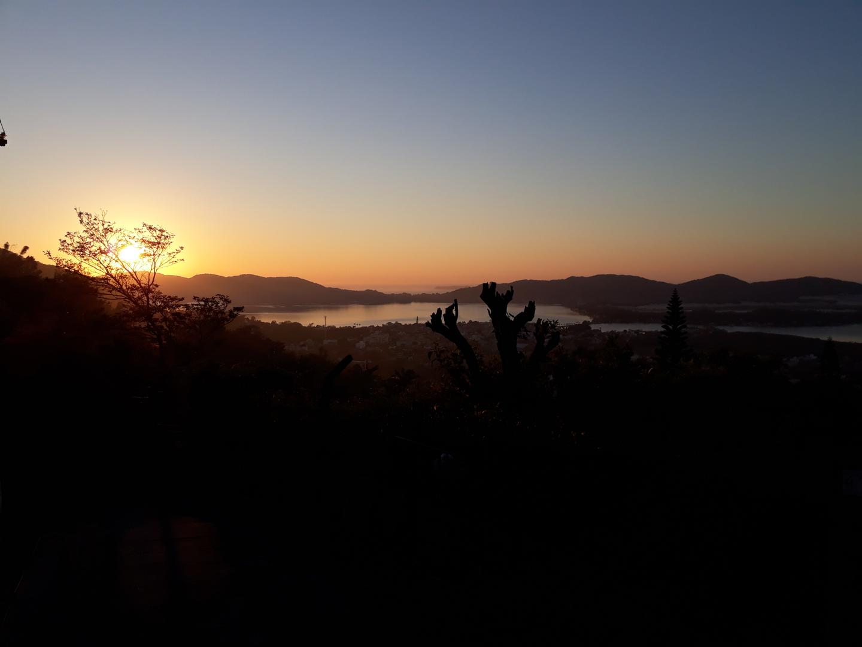 Nascer do Sol mirante da Lagoa da Conceição - Florianópolis