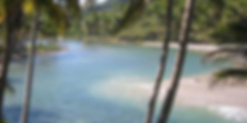 O Rio Jeribucaçu banha a Cachoeira e o mar