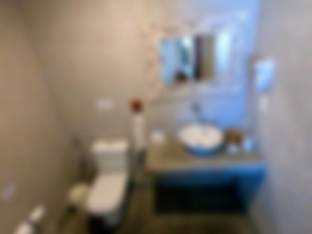 Apartamento 1 e 3 têm a mesma configuração de banheiros