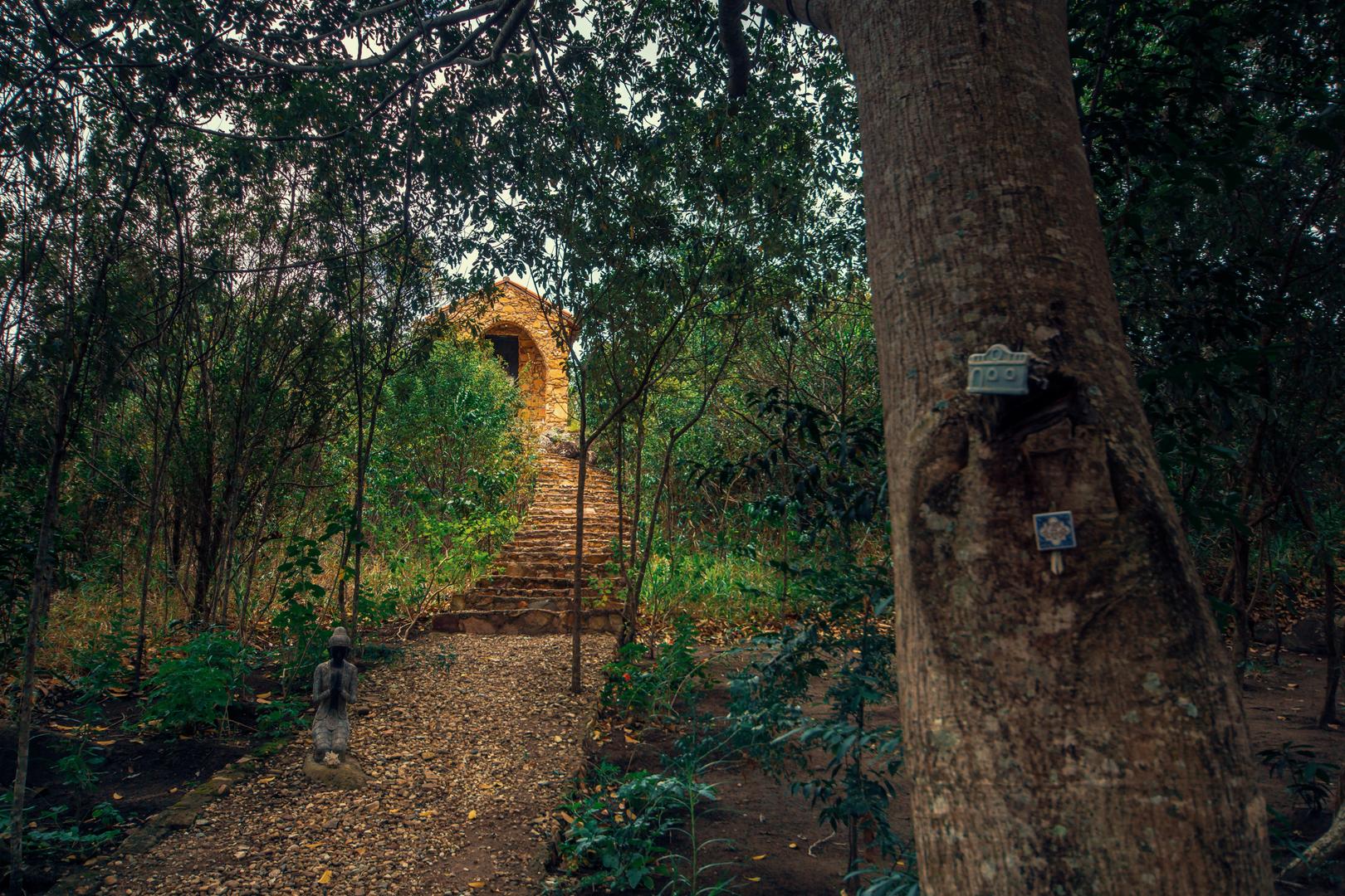 No Vale do Capão um belo templo de meditação