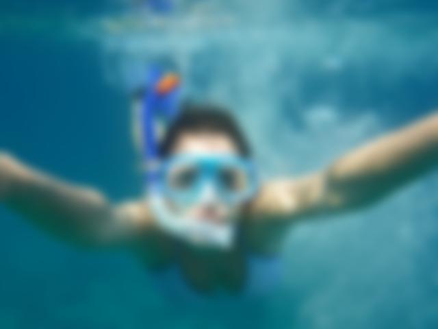 Relaxar mergulhando é tudo de bom