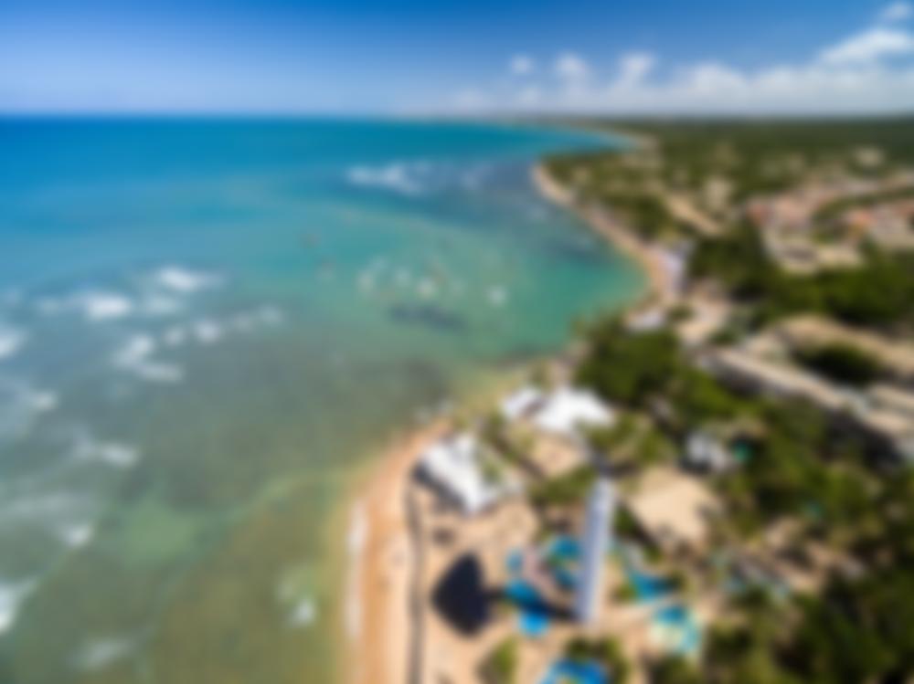 Praia do Forte, cenário paradisíaco