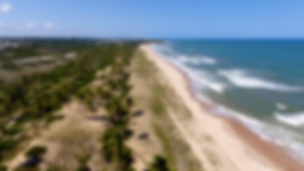 Vista aérea Praia de Santo Antônio