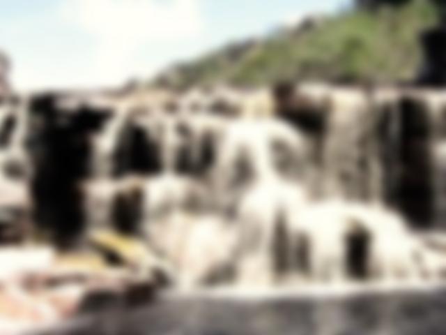 A bela Cachoeira do Cardoso