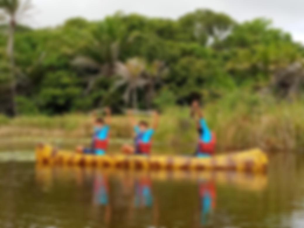 Canoa no Rio Pojuca