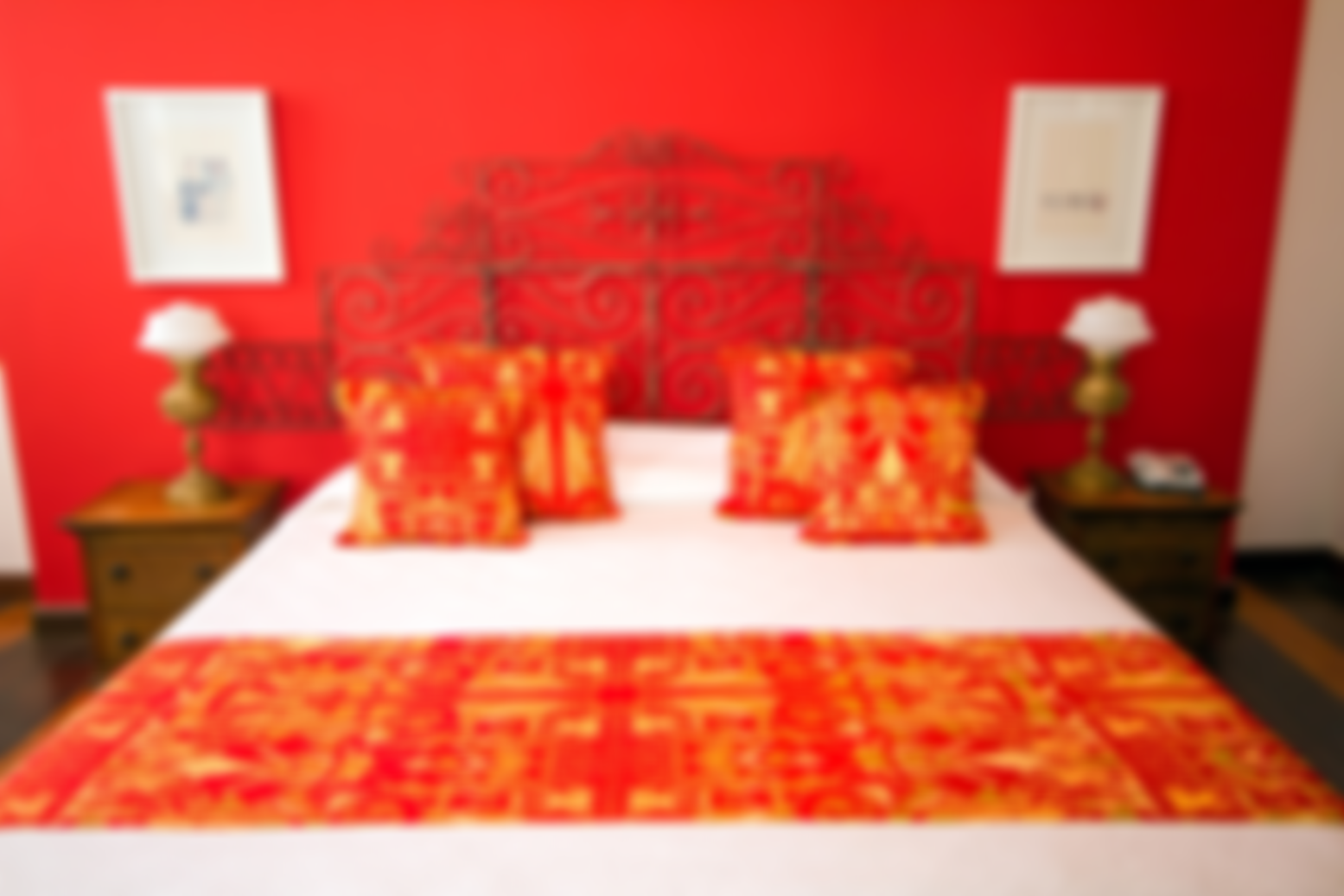 Double room Xangô, queen bed, with view, Pelourinho-Salvador