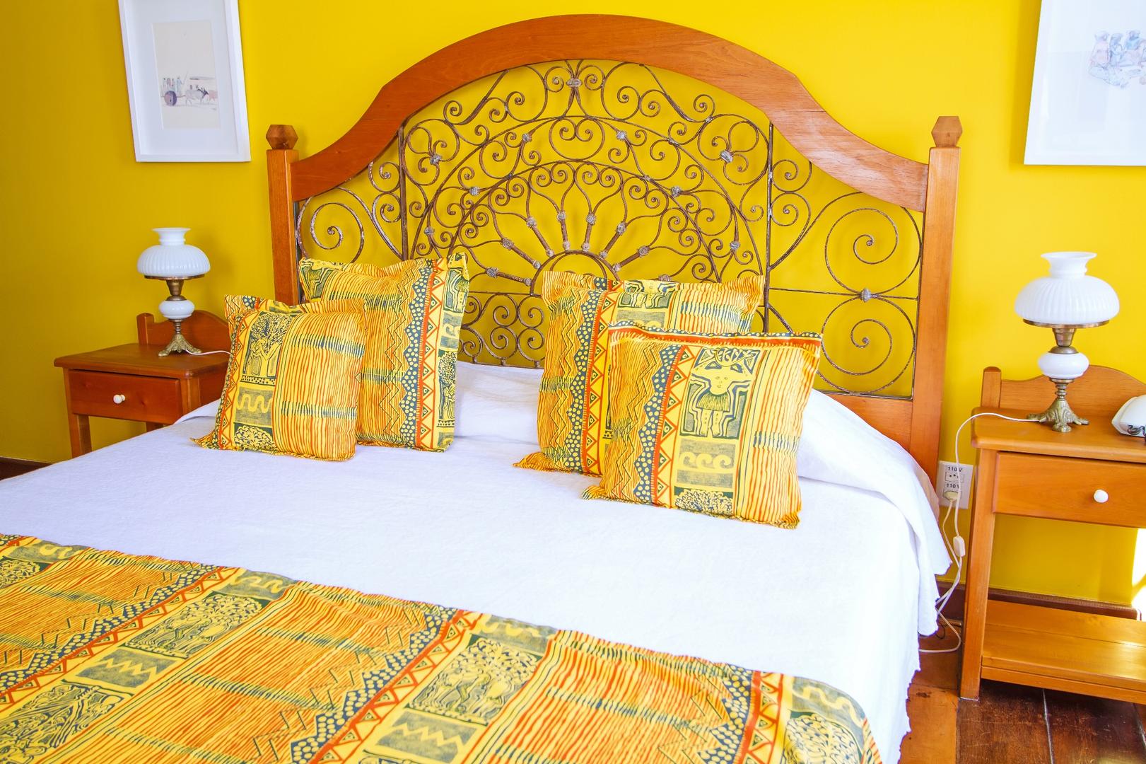 Habitación doble Oxum, cama queen, Pelourinho, Salvador