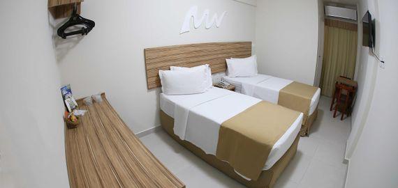 Apartamento Duplo Twin Standard do Real Praia Hotel Aracaju