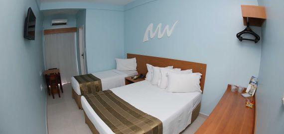 Apartamento Triplo Casal do Real Praia Hotel Aracaju