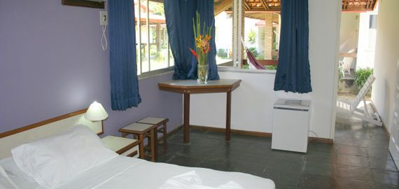 Habitación estándar Hotel Paraiso Tropical en Morro de SP