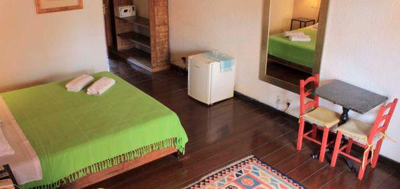 Quarto tríplo- Pousada Casa da Lagoa - Florianópolis