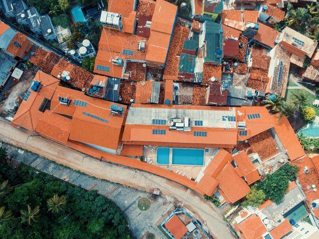 Foto aérea de Morro de São Paulo   Morro da Saudade Hotel