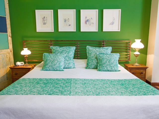 Habitación doble Oxóssi, cama queen, vista al Pelourinho