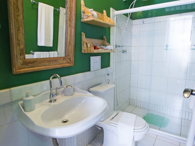 Baño privado, habitación doble Oxóssi, Pelourinho, Salvador