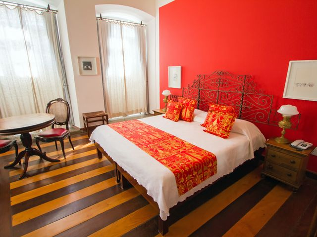 Double room Xangô, queen bed, with view, Pelourinho-Salvador