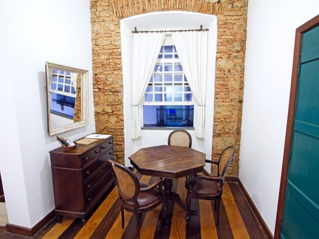 Habitación familiar Oxalá, cama queen, vista al Pelourinho