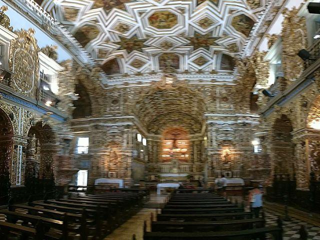 Church detail, Pelourinho, historic center, Salvador, Bahia