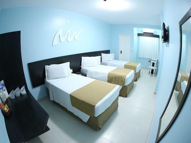 Apartamento Triplo Twin do Real Praia Hotel Aracaju