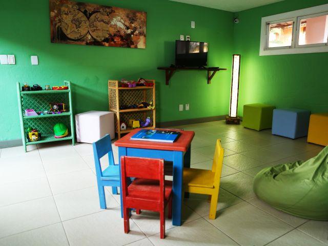 Sala para Crianças - Tatuapara Pousada em Praia do Forte