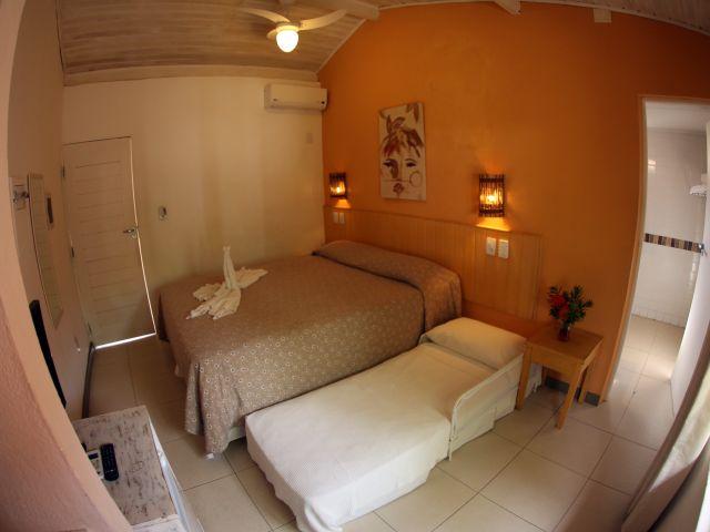 Apartamento Duplo Família - Pousada Praia do Forte BA