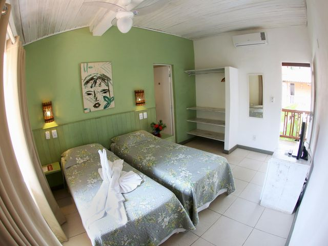 Apartamento Duplo Standard Twin - Pousada Praia do Forte BA
