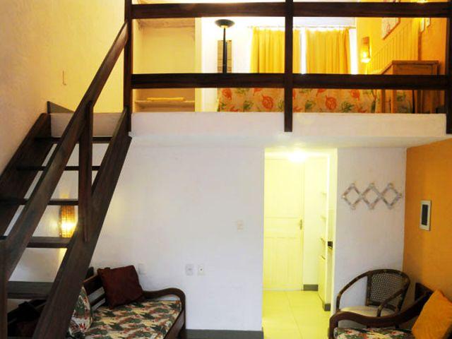Apartamento Mezanino Visão Ampla - Pousada em Praia do Forte