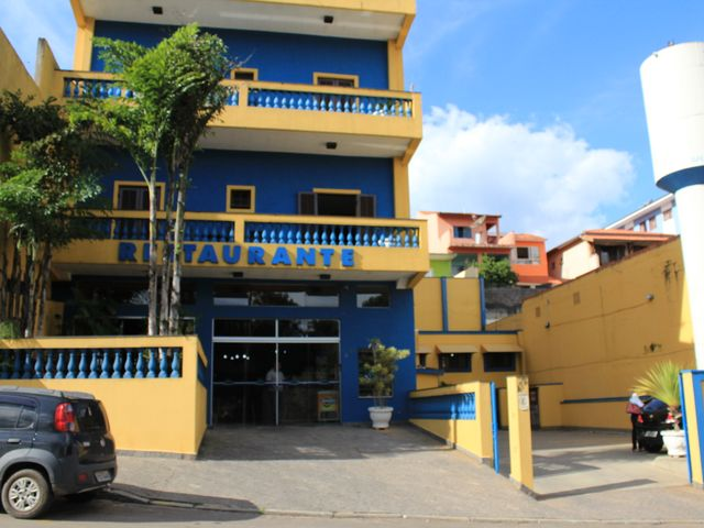 Fachada do Hotel Nazaré