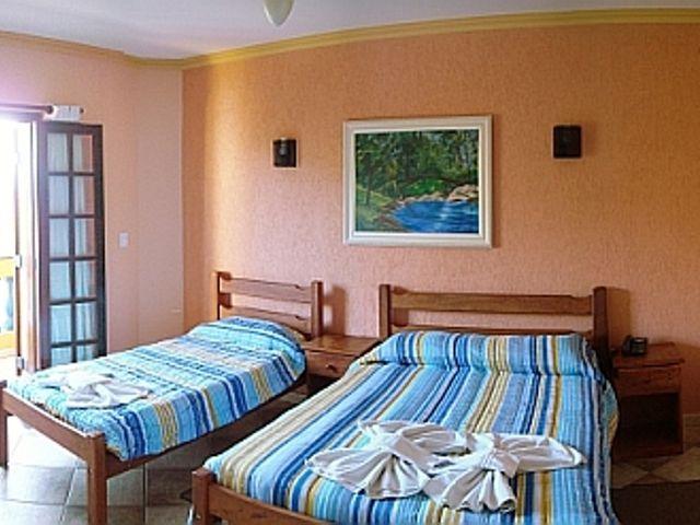 Quarto casal/solteiro com sacada - Hotel Nazaré