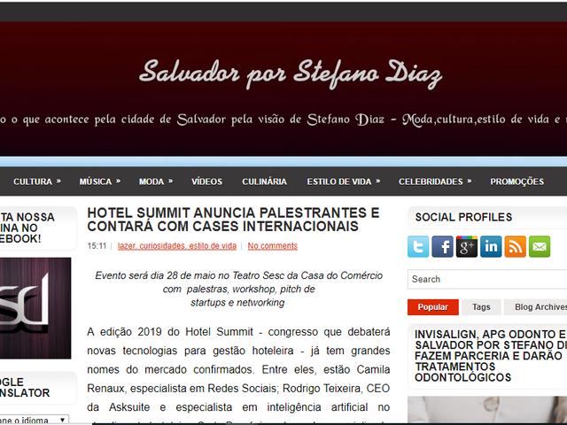 HOTEL SUMMIT ANUNCIA PALESTRANTES