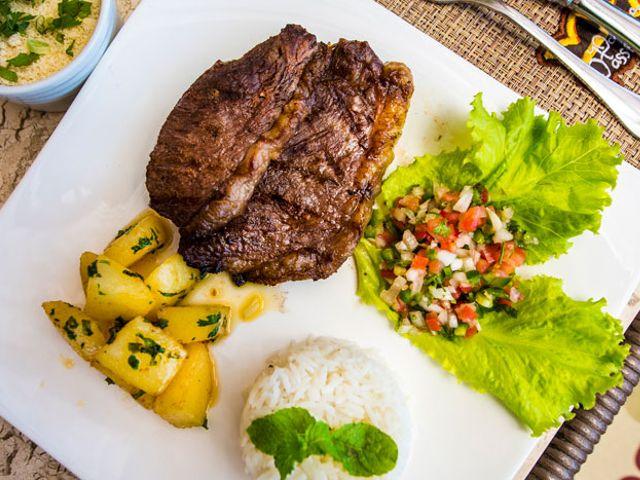 Restaurante - Bossa Nova - Pousada Passárgada - Morro de SP