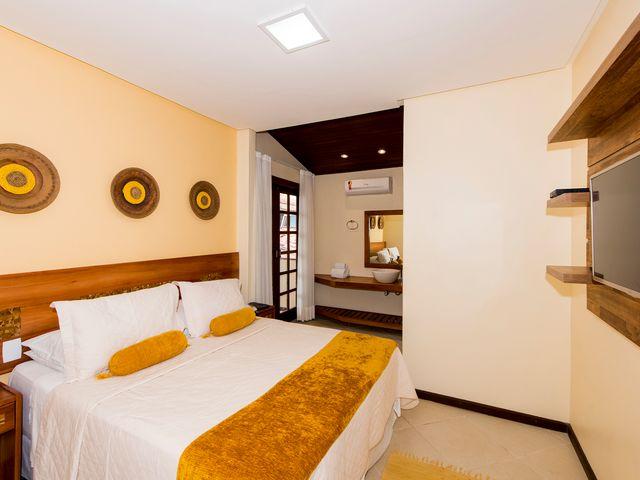 Suite Yellow - Pousada Passárgada - Morro de São Paulo BA