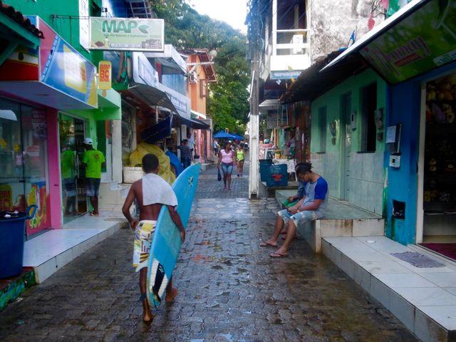 Ruas - Morro de São Paulo - Pousada Passárgada