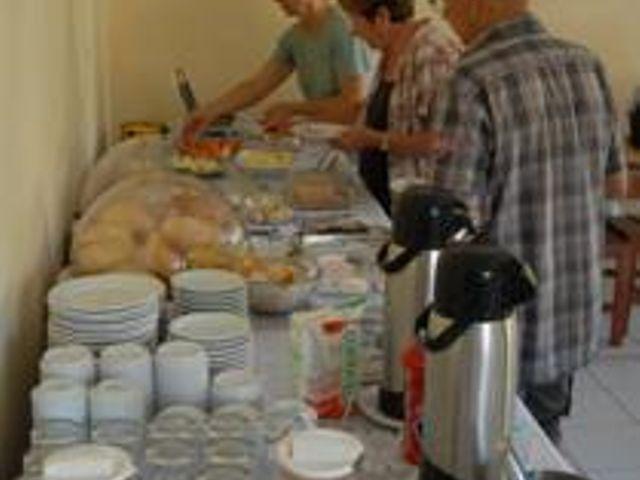 Café da Manhã - Pousada da Areia