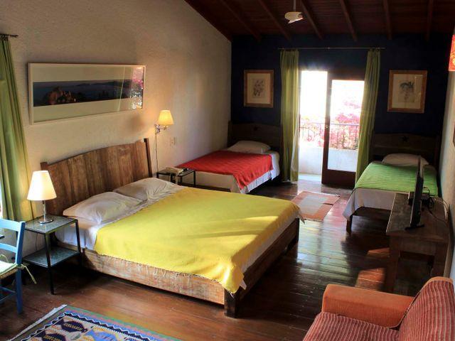 Quarto quadrúplo - Pousada Casa da Lagoa - Florianópolis