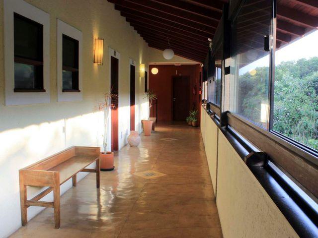 Varanda Pousada Casa da Lagoa - Florianópolis