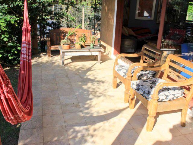 Varanda - Pousada Casa da Lagoa - Florianópolis