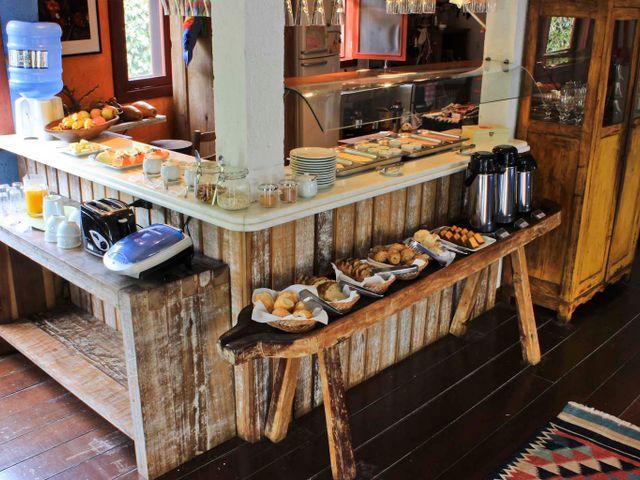 Café da manhã - Pousada Casa da Lagoa - Florianópolis