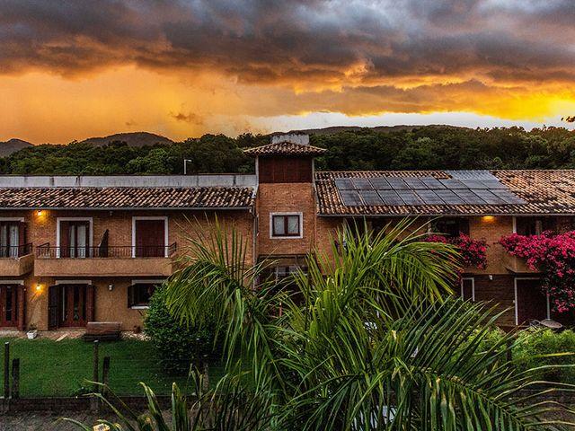 Fachada Pousada Casa da Lagoa - Florianópolis