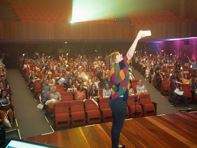Selfie com Naline Vasconelos - Hotel Summit 2019