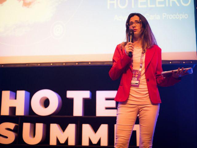 Palestrante Carla Procópio diretamente do Hotel Summit 2019