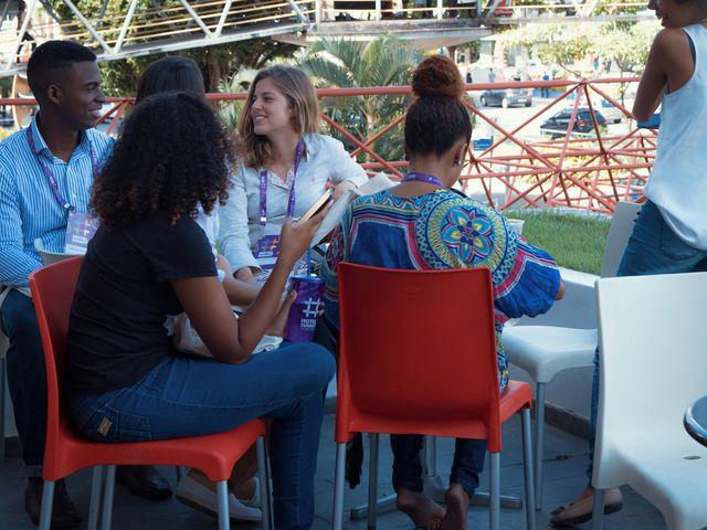 Interações Área Externa Casa do Comércio - Hotel Summit 2019