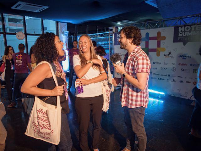 Interações no Hotel Summit 2019